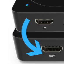 Ultra-low lag HDMI Pass-through
